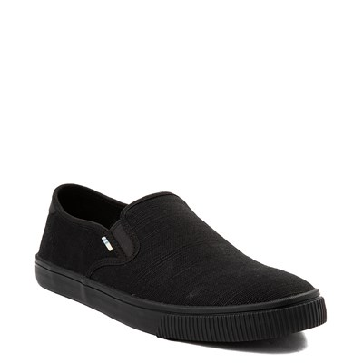 Alternate view of Mens TOMS Baja Slip On Casual Shoe - Black
