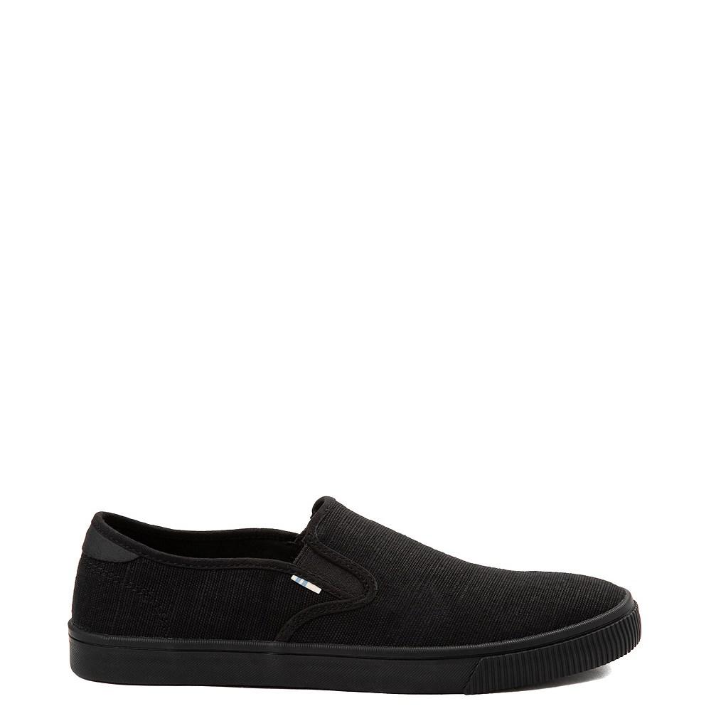 Mens TOMS Baja Slip On Casual Shoe - Black