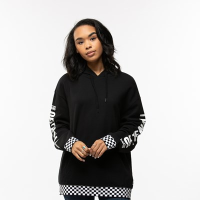 Main view of Womens Vans Central Oversized Hoodie