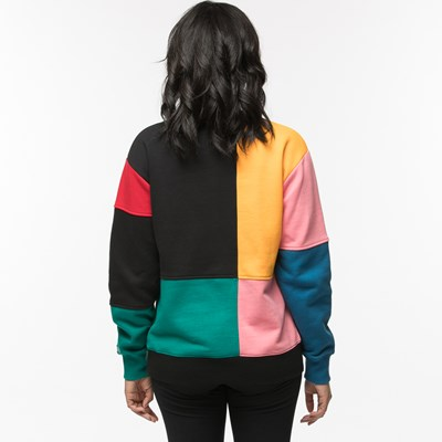 Alternate view of Womens Vans Patchy Crew Sweatshirt
