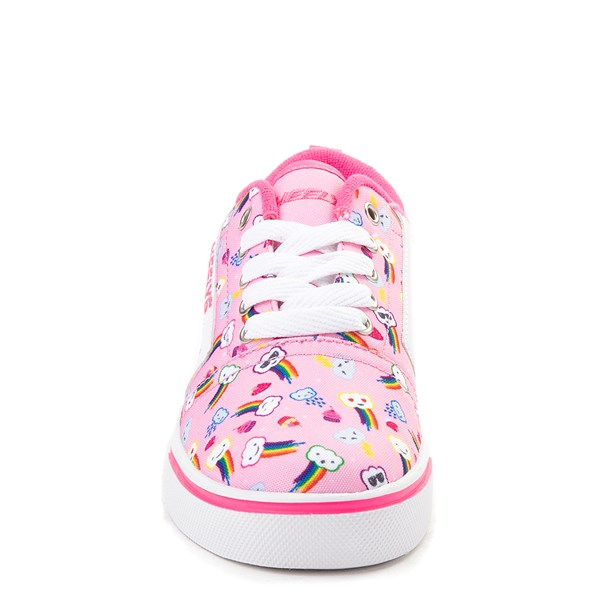 alternate image alternate view Heelys Gr8 Pro Rainbow Clouds Skate Shoe - Little Kid / Big KidALT4
