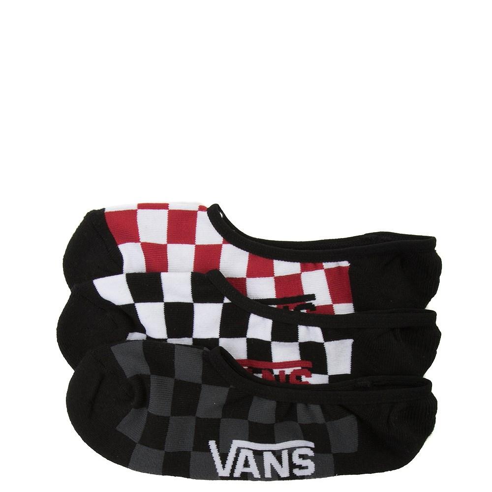 Mens Vans Checkerboard Liners 3 Pack