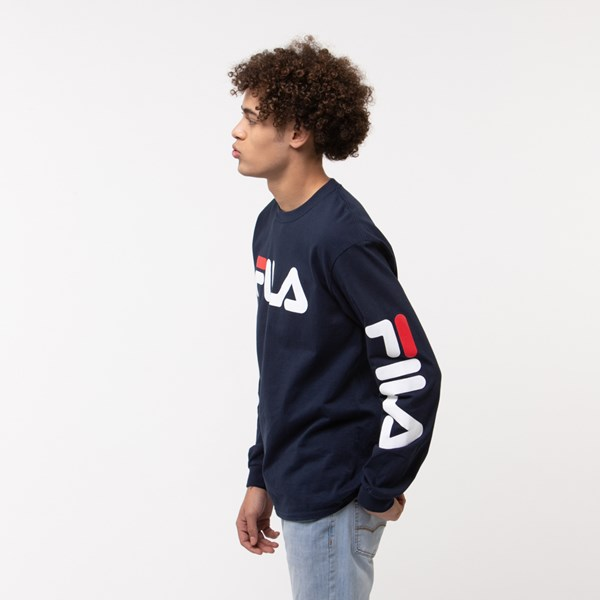 alternate image alternate view Mens Fila Long Sleeve TeeALT2