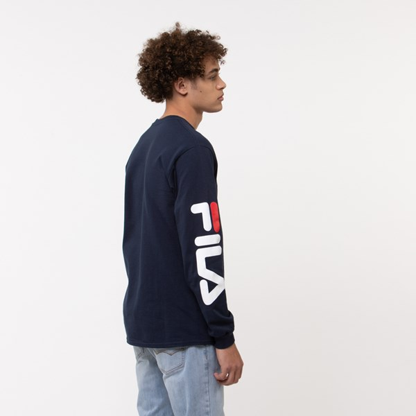 alternate image alternate view Mens Fila Long Sleeve TeeALT3