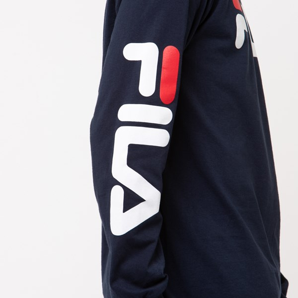 alternate image alternate view Mens Fila Long Sleeve TeeALT4