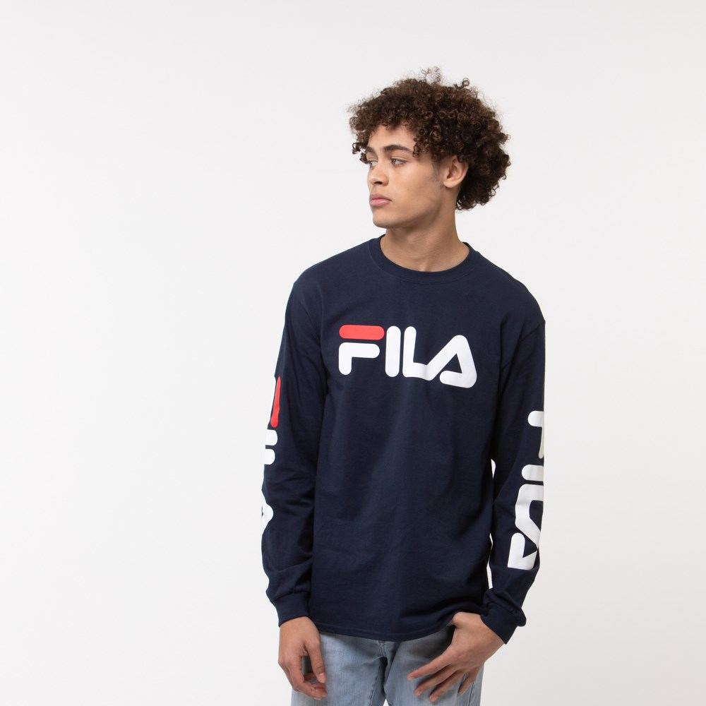 Mens Fila Long Sleeve Tee