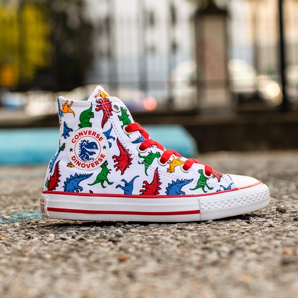 alternate image alternate view Converse Chuck Taylor All Star Dinos Hi Sneaker - Little KidALT1C