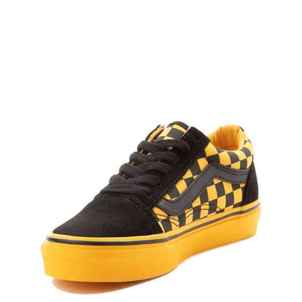 alternate image alternate view Vans Old Skool Chex Skate Shoe - Little Kid / Big KidALT3