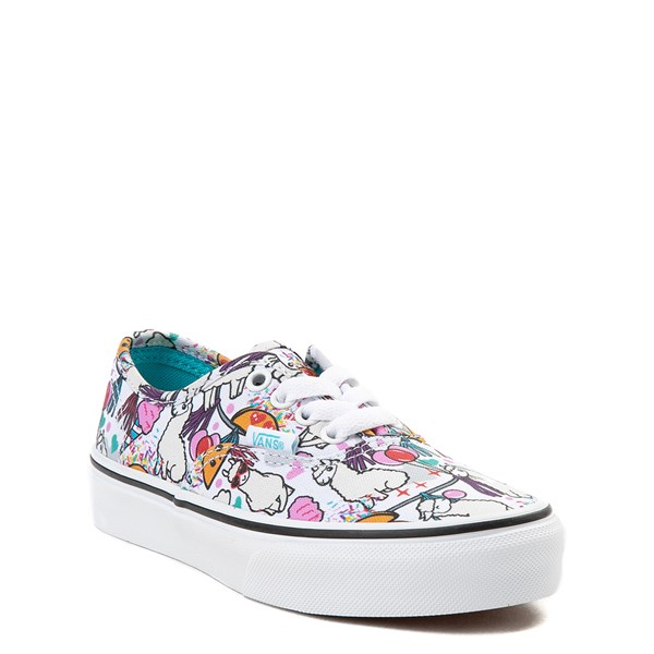 alternate image alternate view Vans Authentic Llama Party Skate Shoe - Little Kid / Big KidALT1