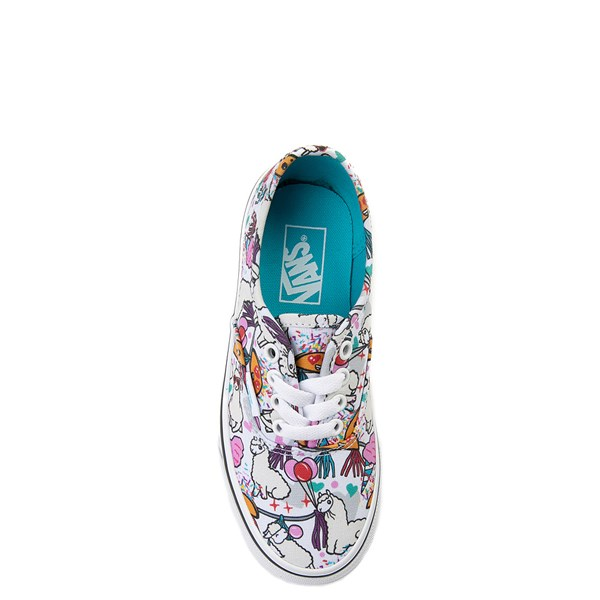 alternate image alternate view Vans Authentic Llama Party Skate Shoe - Little Kid / Big KidALT6