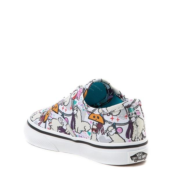alternate image alternate view Vans Authentic Llama Party Skate Shoe - Baby / ToddlerALT2