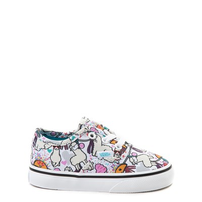 Main view of Vans Authentic Llama Party Skate Shoe - Baby / Toddler