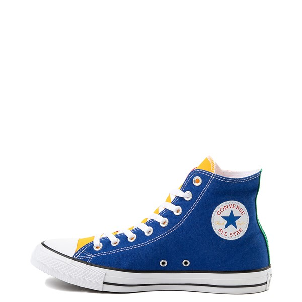 alternate image alternate view Converse Chuck Taylor All Star Hi Color-Block SneakerALT1