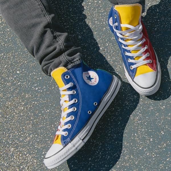 alternate image alternate view Converse Chuck Taylor All Star Hi Sneaker - Primary Color-BlockALT1B