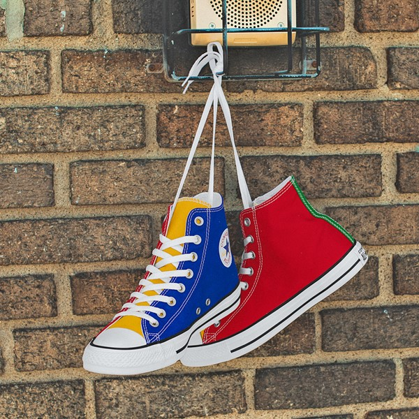 alternate image alternate view Converse Chuck Taylor All Star Hi Color-Block SneakerALT1D