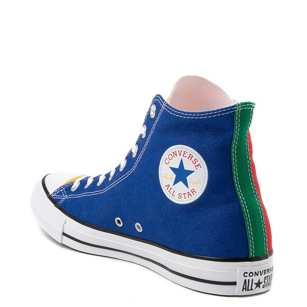 alternate image alternate view Converse Chuck Taylor All Star Hi Sneaker - Primary Color-BlockALT2