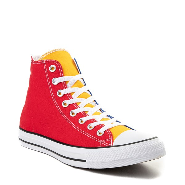 alternate image alternate view Converse Chuck Taylor All Star Hi Color-Block SneakerALT1B