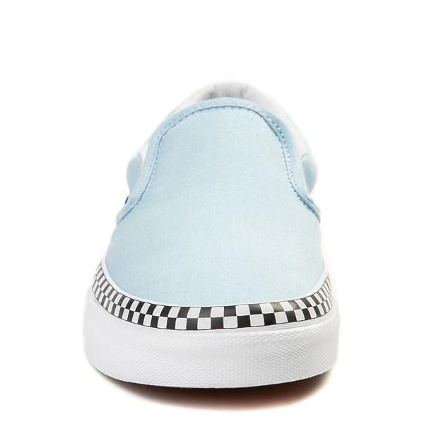 alternate image alternate view Vans Slip On Checkerboard Skate Shoe - Cool BlueALT4
