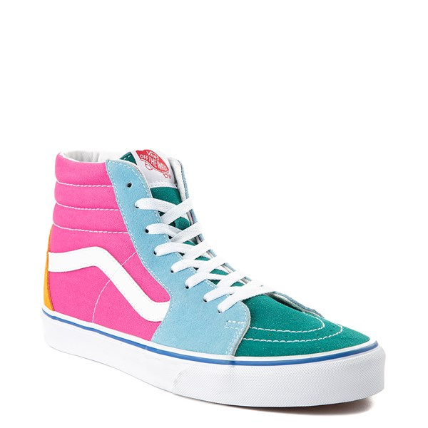 alternate image alternate view Vans Sk8 Hi Color-Block Skate ShoeALT1