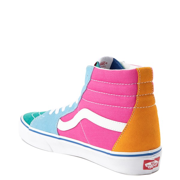 alternate image alternate view Vans Sk8 Hi Color-Block Skate ShoeALT2