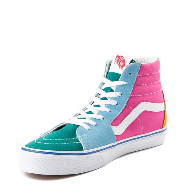 alternate image alternate view Vans Sk8 Hi Color-Block Skate ShoeALT3