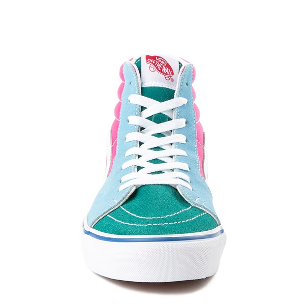 alternate image alternate view Vans Sk8 Hi Color-Block Skate ShoeALT4