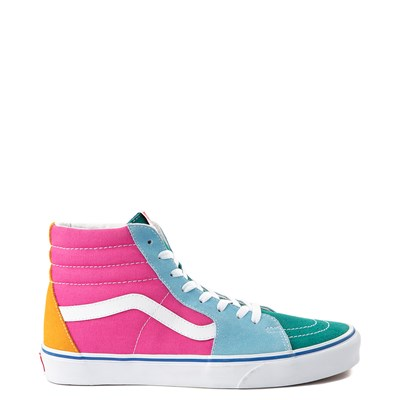 Main view of Vans Sk8 Hi Color-Block Skate Shoe