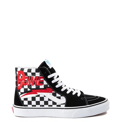 Main view of Vans x David Bowie Sk8 Hi Chex Skate Shoe
