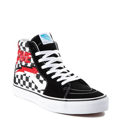Alternate view of Vans x David Bowie Sk8 Hi Chex Skate Shoe