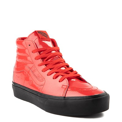 Alternate view of Vans x David Bowie Ziggy Stardust Sk8 Hi Platform Skate Shoe