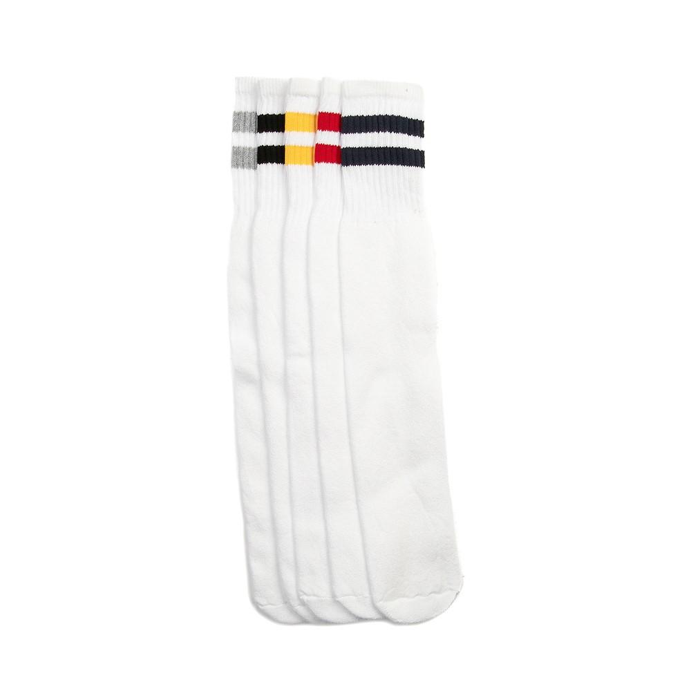 Classic Tube Socks 5 Pack - White / Multi