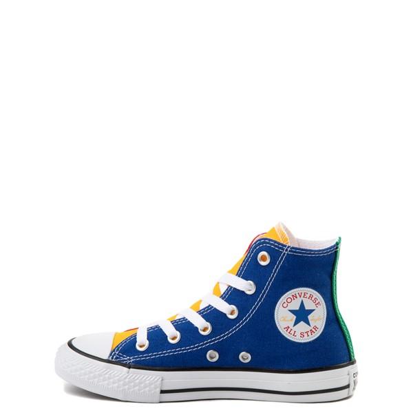 alternate image alternate view Converse Chuck Taylor All Star Hi Color-Block Sneaker - Little Kid - MulticolorALT1
