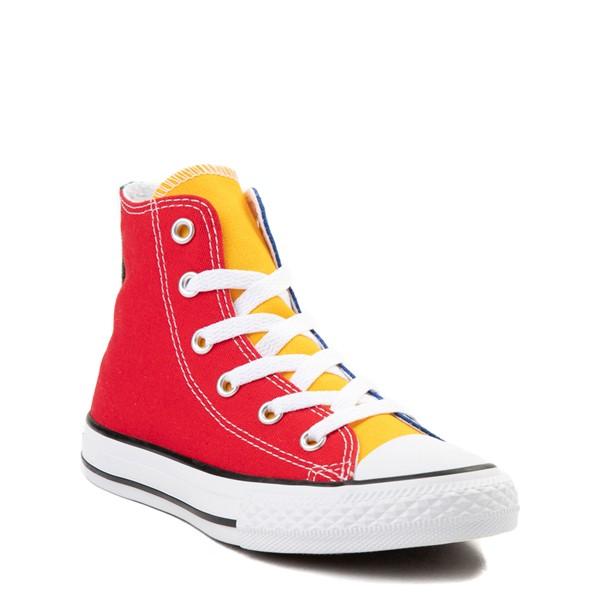 alternate image alternate view Converse Chuck Taylor All Star Hi Color-Block Sneaker - Little Kid - MulticolorALT1B