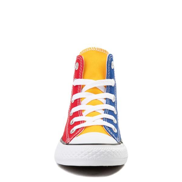 alternate image alternate view Converse Chuck Taylor All Star Hi Color-Block Sneaker - Little Kid - MulticolorALT4