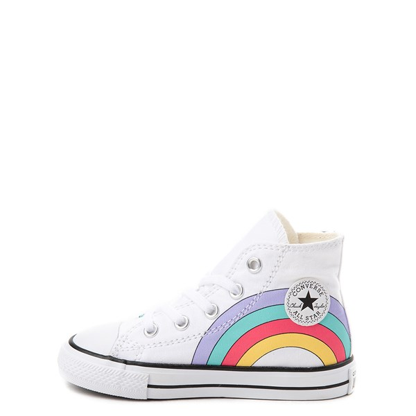 alternate image alternate view Converse Chuck Taylor All Star Unicorn Rainbow Hi Sneaker - Baby / ToddlerALT1