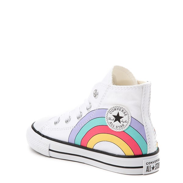 alternate image alternate view Converse Chuck Taylor All Star Unicorn Rainbow Hi Sneaker - Baby / ToddlerALT2