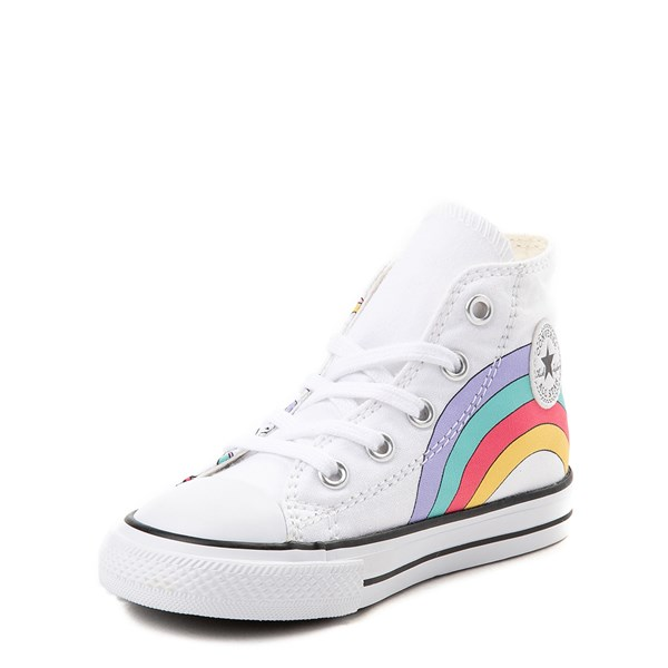 alternate image alternate view Converse Chuck Taylor All Star Unicorn Rainbow Hi Sneaker - Baby / ToddlerALT3