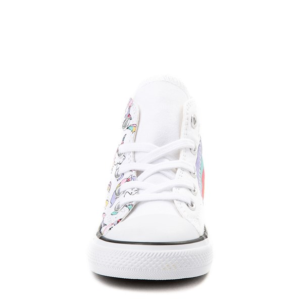 alternate image alternate view Converse Chuck Taylor All Star Unicorn Rainbow Hi Sneaker - Baby / ToddlerALT4
