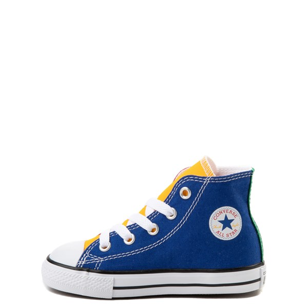 alternate image alternate view Converse Chuck Taylor All Star Hi Color-Block Sneaker - Baby / ToddlerALT1