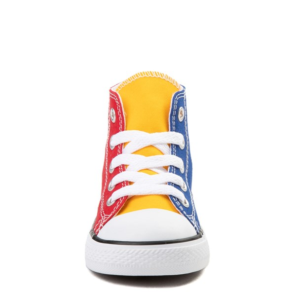 alternate image alternate view Converse Chuck Taylor All Star Hi Color-Block Sneaker - Baby / ToddlerALT4