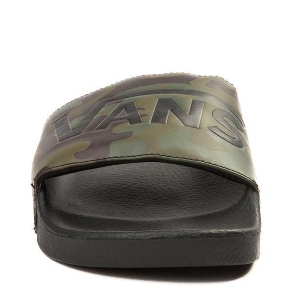 alternate image alternate view Mens Vans Slide On Camo SandalALT4