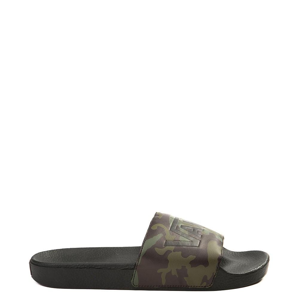Mens Vans Slide On Camo Sandal