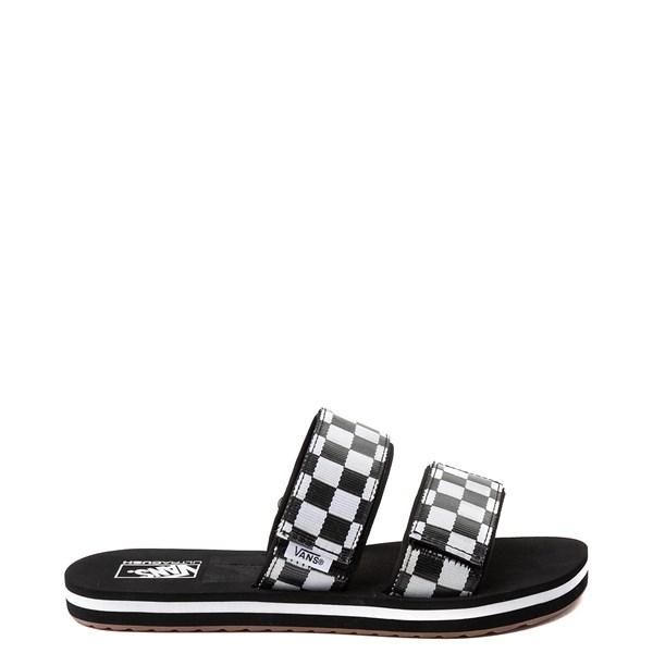 Womens Vans Cayucas Chex Slide Sandal