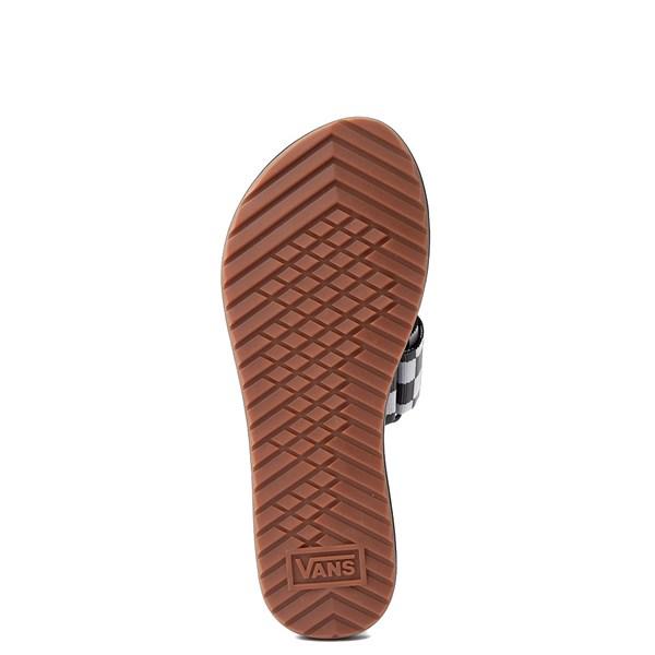 alternate image alternate view Womens Vans Cayucas Chex Slide SandalALT5