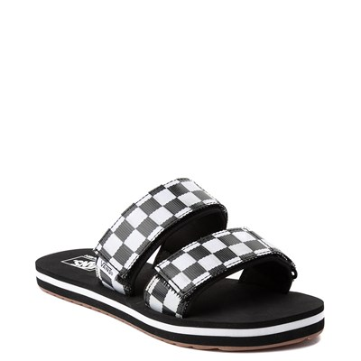 Alternate view of Womens Vans Cayucas Chex Slide Sandal