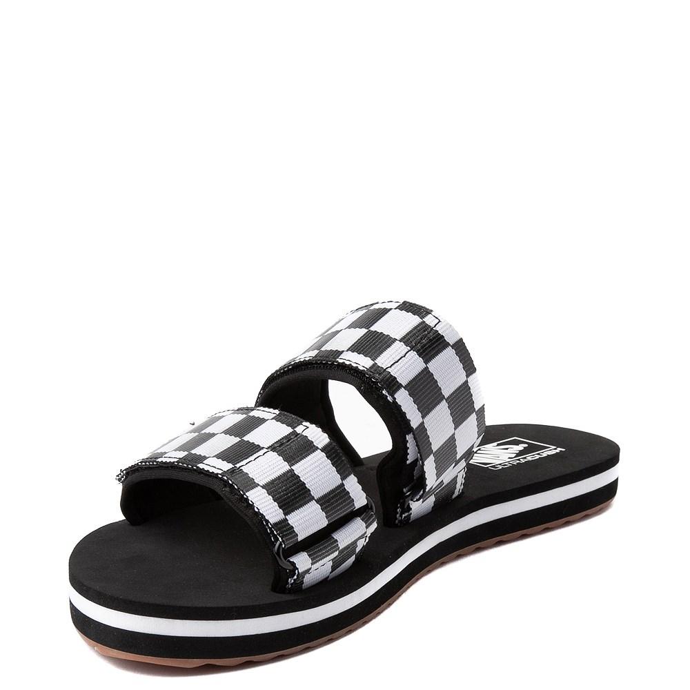 3a9dd61f0315 Womens Vans Cayucas Chex Slide Sandal