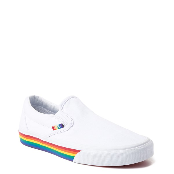 alternate image alternate view Vans Slip On Rainbow Skate ShoeALT1
