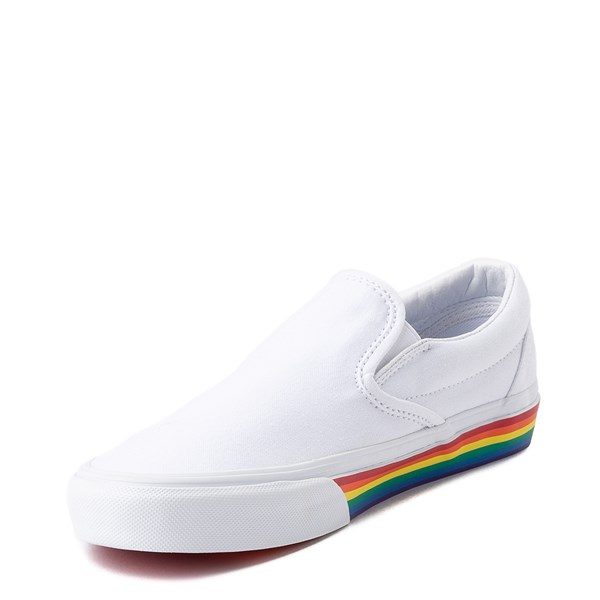 alternate image alternate view Vans Slip On Rainbow Skate ShoeALT3