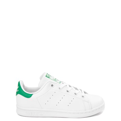 Main view of adidas Stan Smith Athletic Shoe - Little Kid - White / Green