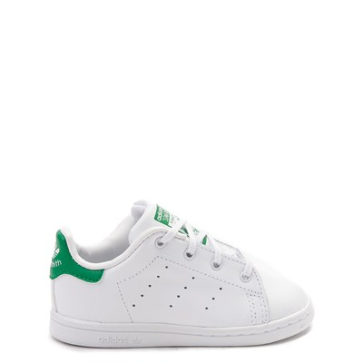 Main view of adidas Stan Smith Athletic Shoe - Baby / Toddler - White / Green